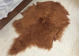 soft curly long hair large white sheepskin rug 100 mongolian tibetan lamb fur images
