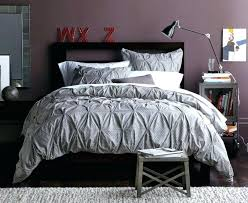 pinched duvet cover image of grey bedding pinch pleat white pleated macy pintuck set