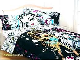 monster high bedding set full – contemporrary home design images ...
