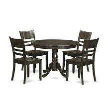 5 Pc Small Kitchen Table And Chairs Set Dining Table And 4 Dinette