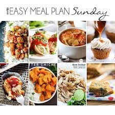 Weekly Menu For One Easy Meal Plan 18 Love Bakes Good Cakes