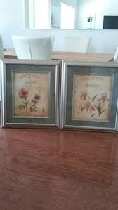 wildflower prints in wood glass frames great condition 26 5x31 15 for matching pair for in delray beach fl offerup