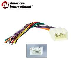ford lincoln car stereo cd player wiring harness wire aftermarket american international fwh598 standard wiring harness
