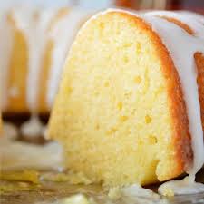 Sweet Creme Lemon Cake Sugar Dish Me