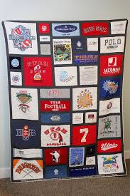 Best looking T-shirt quilt I've seen. I like the black borders ... & Best looking T-shirt quilt I've seen. I like the black borders around  everything. Save kids old t shirts as thy grow and then make it for them  hen… Adamdwight.com