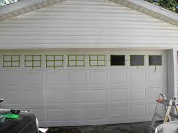 diy garage door windows house to home blog throughout idea 12