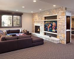 Small Picture Fireplace Tv Wall Houzz