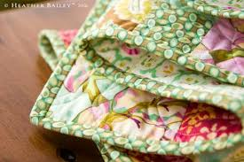 Quilt Binding 101 - Beginner's Quilting Series – Pile O' Fabric & Heather Bailey - A Binding Tutorial Type of Binding: Bias or Grain, Double  Folded Binding Method: Hand Stitched Joining Method: Diagonal Seams  Preferred Cut ... Adamdwight.com