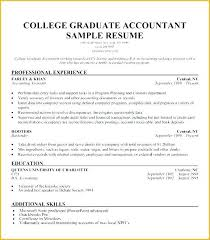 Hooters Resume Example Best Of Resume Sample For College Graduates Ophionco