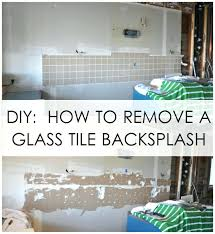 Removing Tile Backsplash Magnificent Removing Tile Backsplash Kitchen Removing Backsplash Tile From