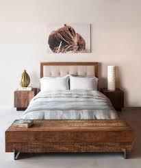 Big Sur Bed, Leblon Cube End Tables, Beam Coffee Table contemporary-bedroom