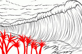 You can edit any of drawings via our online image editor before downloading. How To Draw A Tsunami Tsunami Tsunamis Step 6 Drawings Cool Drawings Guided Drawing