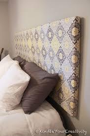 terrific diy headboard ideas fabric covered pics cellerall com