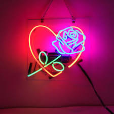 image is loading new love rose sweet bar pub wall decor  on neon wall art nz with new love rose sweet bar pub wall decor acrylic neon light sign 14
