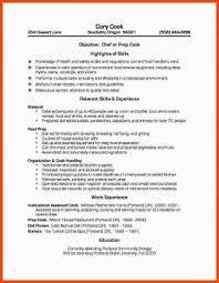 Food Prep Resume New Food Prep Resume Simple Resume Examples For Jobs