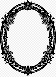 borders and frames picture frames black and white clip art frame gothic png 941 1280 free transpa borders and frames png