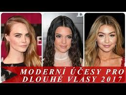 Moderní účesy Pro Dlouhé Vlasy 2017