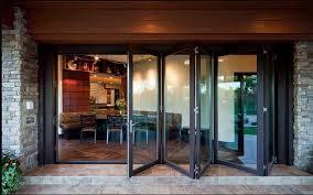 restaurant folding metal doors
