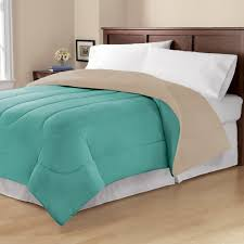 mainstays twin or twin xl solid reversible comforter 1 each com