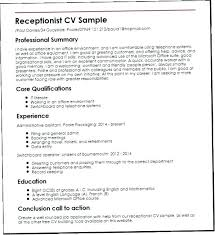 Salon Receptionist Job Description Medical Receptionist Template Job Description Resume Sample