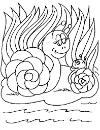 Small Picture Coloring Page Snail animal coloring pages 6
