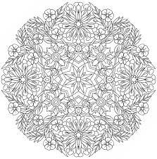 Coloring Pages Mandala Mandalas Mandala Coloring