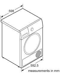 Máy sấy quần áo Bosch WTB86201SG nhập khẩu chính hãng