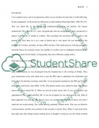 reflective account using rolfe et al model of reflection nursing essay reflective account using rolfe et al model of reflection nursing essay essay example