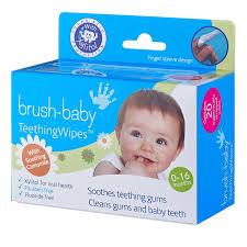 Салфетки-напальчники для <b>полости рта Brush</b>-<b>Baby</b> (от 0 до 16 ...