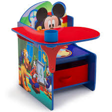 Mickey Mouse Clubhouse Bedroom Accessories Disney Mickey Mouse Chair Desk With Storage Bin Toysrus