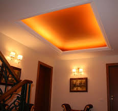 tray ceiling decor with fort lauderdale crown molding and indirect lighting ceiling design ideas