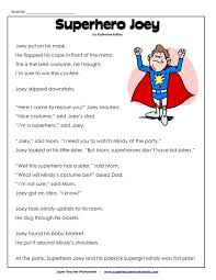 Reading Worksheets For Second Grade Worksheets For School ...