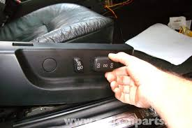 bmw e39 5 series power seat testing 1997 2003 525i 528i 530i here we are at the passenger power seat switch