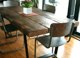 rustic dining table with benches rustic dining table bench kitchen furniture recycled wood chairs kit rustic