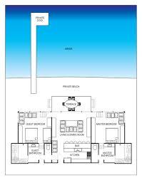 Beach House Floor Plan Simple Floor Plans Open House  beach house    Beach House Floor Plan Simple Floor Plans Open House