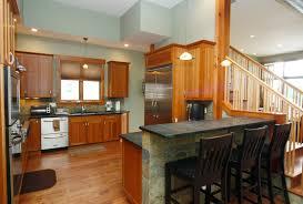 Open Floor Plan Small House Home Office - Open floor plan kitchen