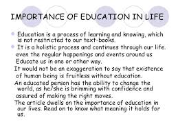 why is education important essay essay on the importance of education in life college paper service