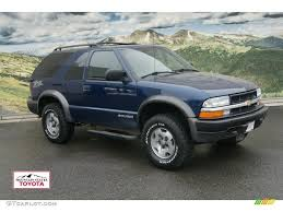 2004 Indigo Blue Metallic Chevrolet Blazer LS ZR2 4x4 #60561204 ...