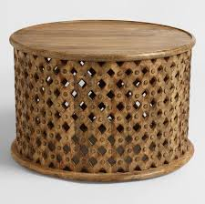 20 small round coffee tables to