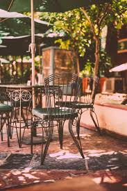small patio tables with umbrella hole