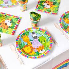 <b>Jungle Animals</b> Kids Birthday <b>Party Theme</b>