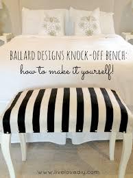 Ballard Designs Bench Livelovediy How To Reupholster A Chair My 10 Best Chair