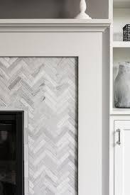 Decorative Tiles For Fireplace Herringbone Fireplace Surround Design Ideas 35