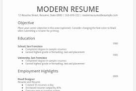 ... Google Drive Resume Template Awesome Download Resume Template Google ...