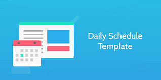 plan daily schedule daily schedule template process street