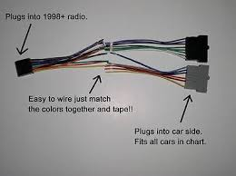 ford radio adapter wire wiring harness old to new style factory Ford Stereo Wiring Harness ford radio adapter wire wiring harness old to new style factory stereo install ford stereo wiring harness diagram