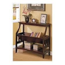 ... Angled Bookcase Bookshelves Three Shelf Living Room Home Office Den  Furniture Book Plus A Photo Vase