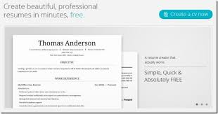 Curriculum Vitae Generator Simple Make A Free Cv Funfpandroidco