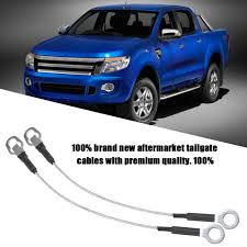 1 Pair of Pickup Truck Tailgate Tail Gate Cables for Ford Ranger ...