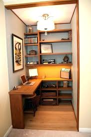 closet office desk. Closet Office Ideas Walk In Home Small . Desk O